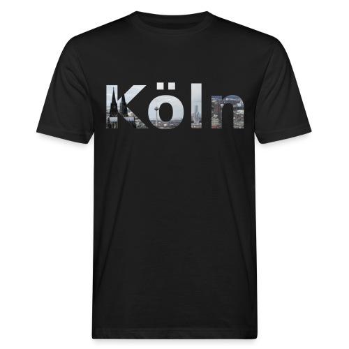 Männer Bio-Shirt Köln Skyline - Männer Bio-T-Shirt