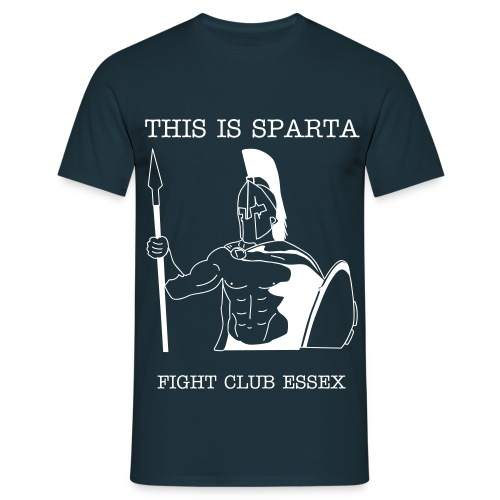 SPARTA TEE - NAVY - Men's T-Shirt