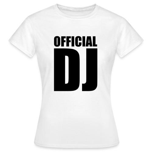 Officiel DJ Femme 1 - T-shirt Femme