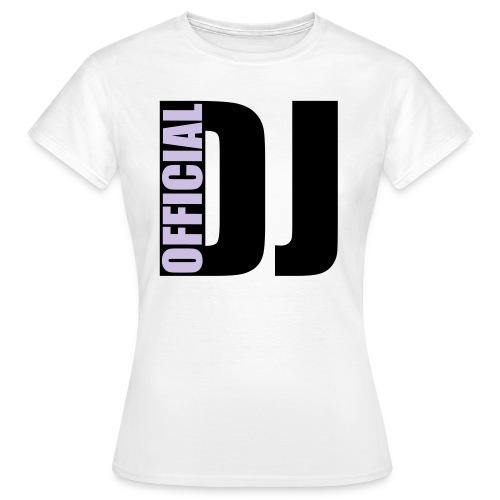 Officiel DJ Femme 2 - T-shirt Femme