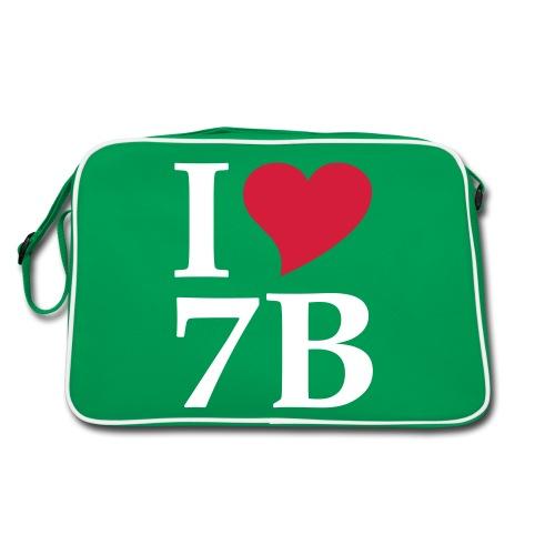 Retro-Tasche I love 7B - Retro Tasche