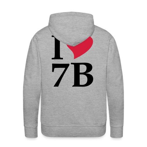Kapuzenpullover I love 7B - Männer Premium Hoodie
