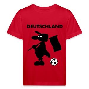 Deutschland Kinder-Fanshirt Fußball - Kinder Bio-T-Shirt