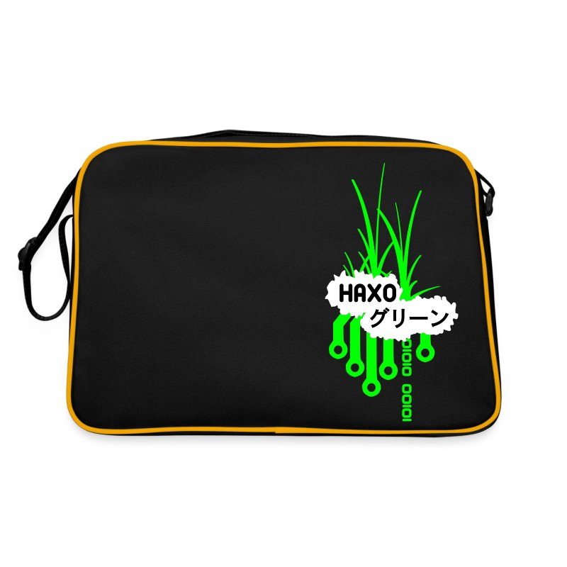 HaxoGreen Bag One - Retro Bag