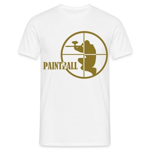 paintball t-shirt herr - T-shirt herr