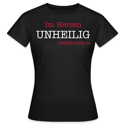 UNHEILIGES.de Damen T-Shirt - Frauen T-Shirt