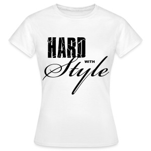 T-shirt Classique Femme Hard With Style - T-shirt Femme