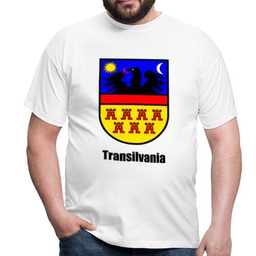 T-Shirt Siebenbürgen-Wappen Transilvania - Erdely - Ardeal - Transilvania - Romania - Rumänien - Männer T-Shirt