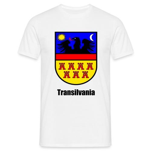 T-Shirt Siebenbürgen-Wappen Transilvania Erdely - Ardeal - Transilvania - Romania - Rumänien - Männer T-Shirt