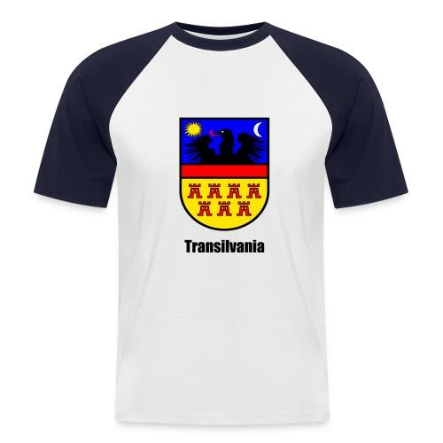 Baseball-Shirt Siebenbürgen-Wappen Transilvania - Erdely - Ardeal - Transilvania - Romania - Rumänien - Männer Baseball-T-Shirt