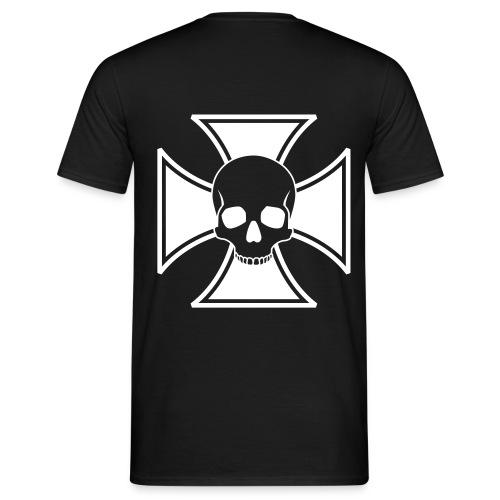 skull cross - T-shirt Homme