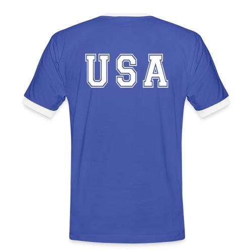 T-Shirt FOOT USA  - T-shirt contrasté Homme