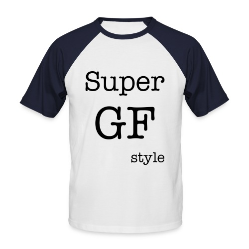T-shirt Super GFstyle Homme recto verso - T-shirt baseball manches courtes Homme
