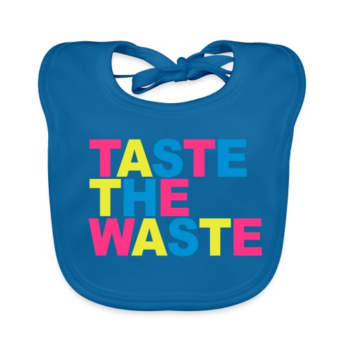 Taste the Waste Baby-Lätzchen - Baby Bio-Lätzchen