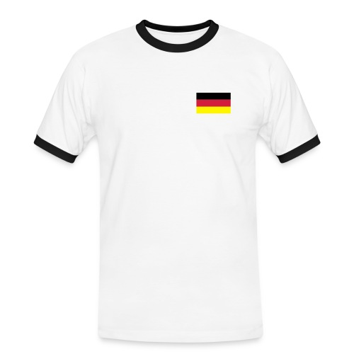 Germany 2010 t-shirt - Malia! - Men's Ringer Shirt