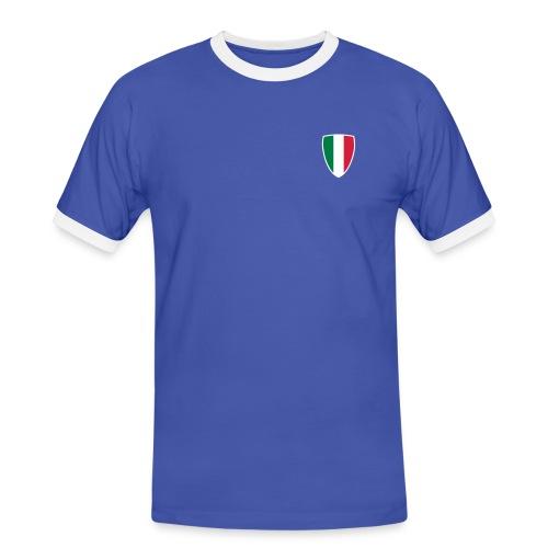Italy 2010 t-shirt - Crete! - Men's Ringer Shirt
