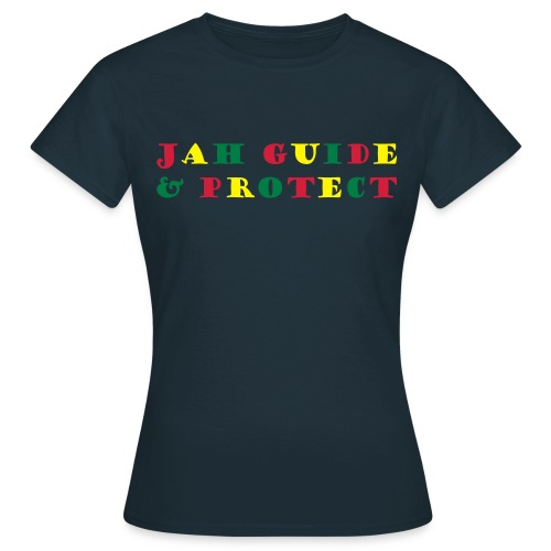 Women: Jah Guide & Protect tricolor t-shirt - Women's T-Shirt