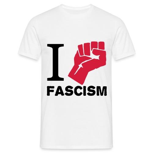 Fight against - T-shirt herr