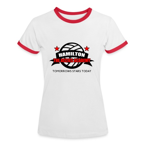 Hamilton Accies Academy - Women's Ringer T-Shirt