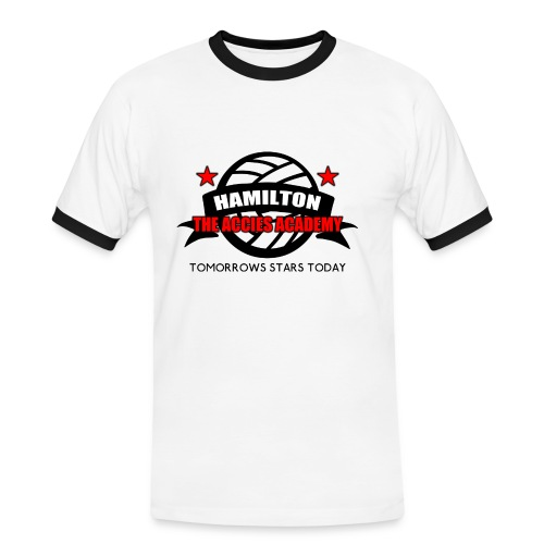 Hamilton Accies Academy - Men's Ringer Shirt