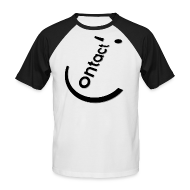 Tee shirts ~ Tee shirt baseball manches courtes Homme ~ Smile Contact