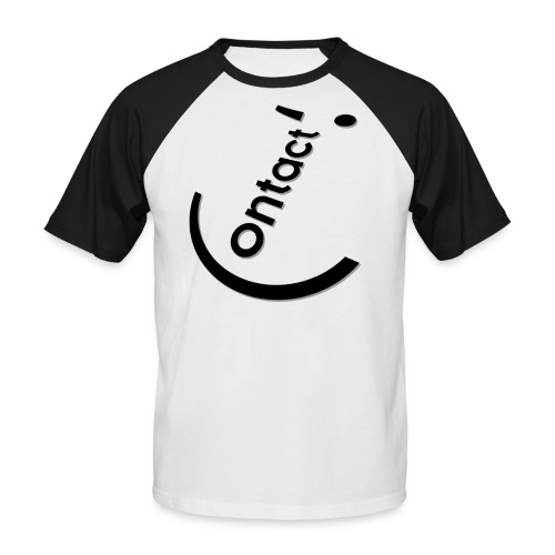 Smile Contact - T-shirt baseball manches courtes Homme