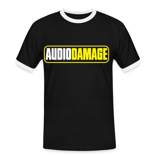 AD CONTRAST T-SHIRT LOGO COLOR - Men's Ringer Shirt