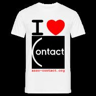 Tee shirts ~ Tee shirt Homme ~ I love Contact