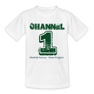Channel 1 - Maxfield Ave - Teenage T-shirt