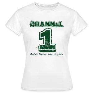 Channel 1 - Maxfield Ave - Women's T-Shirt