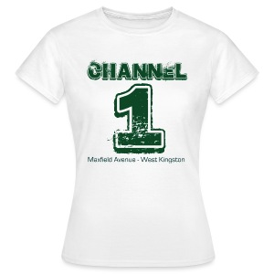 Channel 1 - Maxfield Ave - Women's T-Shirt