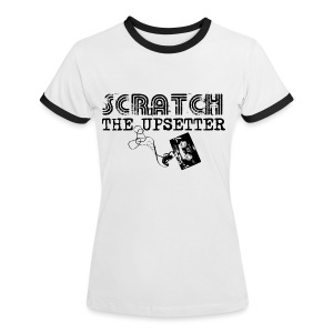 Scratch The Upsetter - Women's Ringer T-Shirt