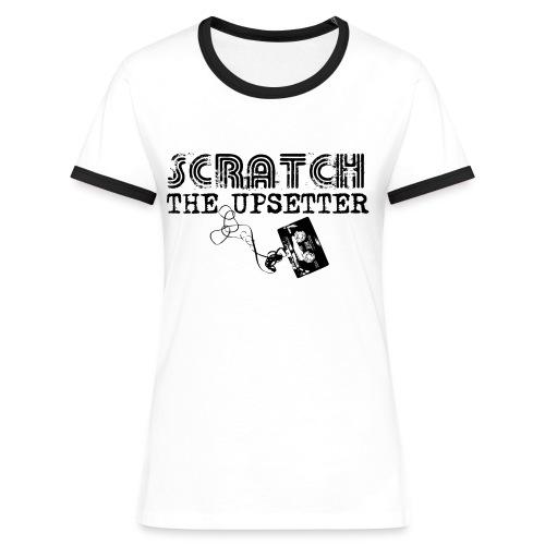 Scratch The Upsetter - Women's Ringer T-Shirt
