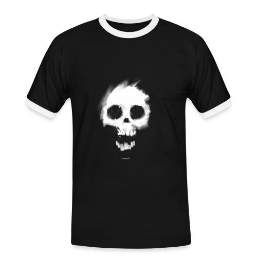 Nosmit Skull Contrast - Men's Ringer Shirt