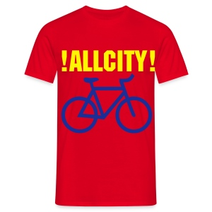 ALLCITY RIDE NYC X LDN 2 Sided - Men's T-Shirt