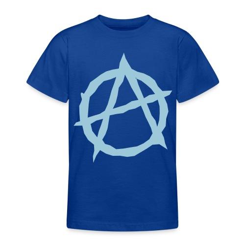 Junior anarchist - Teenager T-shirt