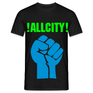 T-Shirts ~ Men's T-Shirt ~ Allcity fist
