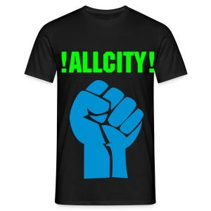 Allcity fist - Men's T-Shirt