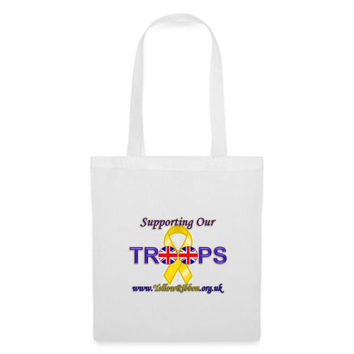 Support our Troops Tote Bag - Tote Bag