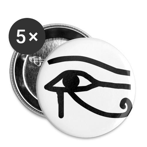Przypinka Duża Oko Horusa - Przypinka duża 56 mm