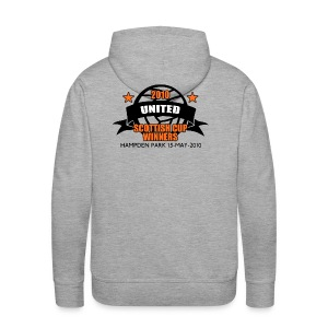 D United 2010 Scottish Cup - Men's Premium Hoodie
