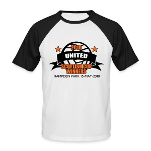 D United 2010 Scottish Cup - Men's Baseball T-Shirt