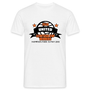 D United 2010 Scottish Cup - Men's T-Shirt