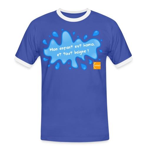 Tout baigne pour les parents d'homos - T-shirt contrasté Homme