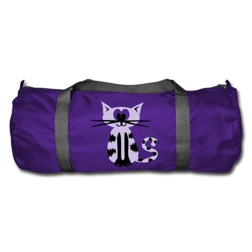 Sporttasche Katze Lila - Sporttasche