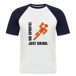 Beer Top - Men's Baseball T-Shirt