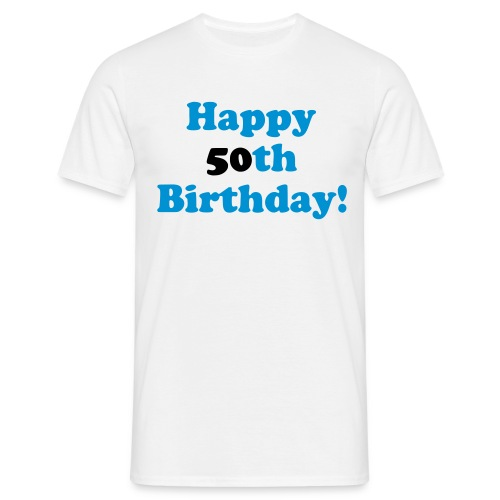 Shirt 50th Birthday - Männer T-Shirt
