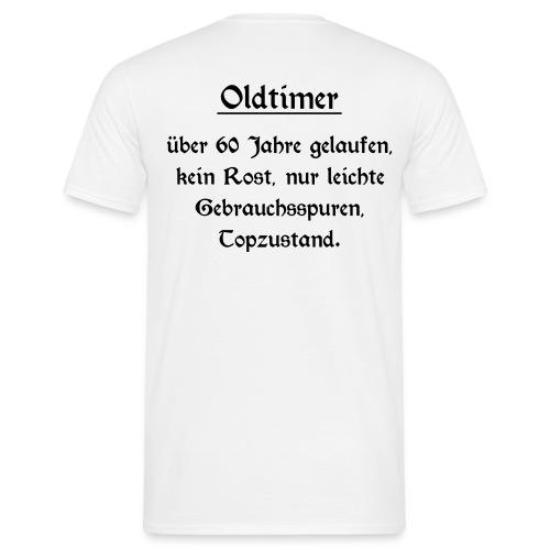 Shirt Oldtimer 60 - Männer T-Shirt