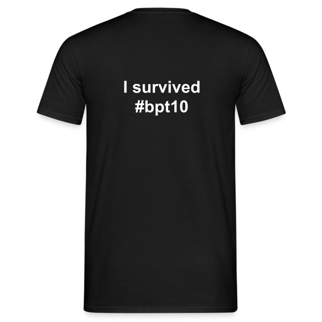 I survived BPT10 - schwarz