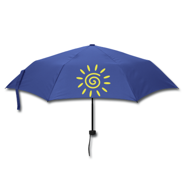 Royal blue sun Umbrellas